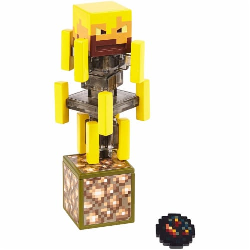 Minecraft Blaze Figure Perspective: front