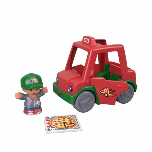 Fisher-Price® Little People Race Car & Helicopter Toy - Assorted Perspective: front
