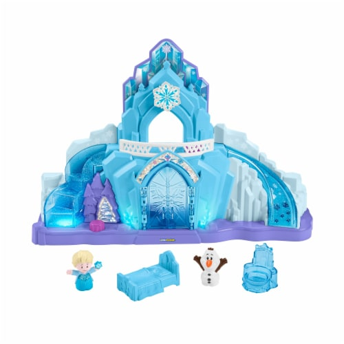 Fisher-Price® Little People® Disney Frozen Elsa's Ice Palace Playset Perspective: front