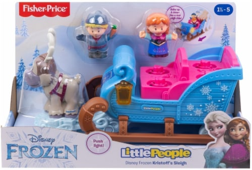 Fisher-Price® Little People Disney Frozen Kristoff's Sleigh Perspective: front