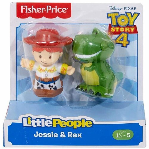 Fisher-Price® Little People Toy Story Jesse & Rex Figures Perspective: front