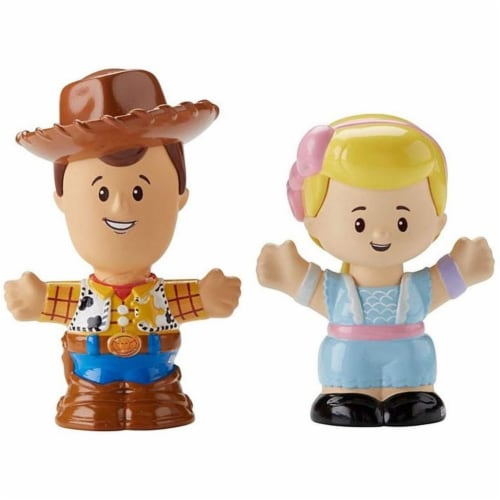 Little People Toy Story Figures - Woody & Bo Peep Perspective: front