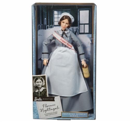 Mattel Barbie® Florence Nightingale Inspiring Women Doll Perspective: front