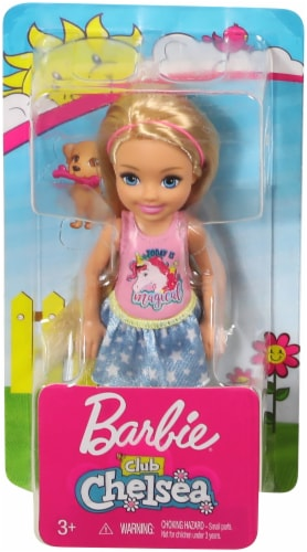 Mattel Barbie® Club Chelsea Doll - Assorted Perspective: front