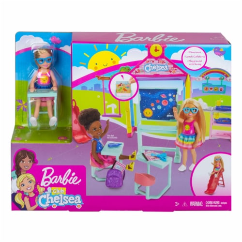 Mattel Barbie® Club Chelsea Classroom Playset Perspective: front