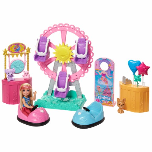 Mattel Barbie® Club Chelsea Carnival Playset Perspective: front