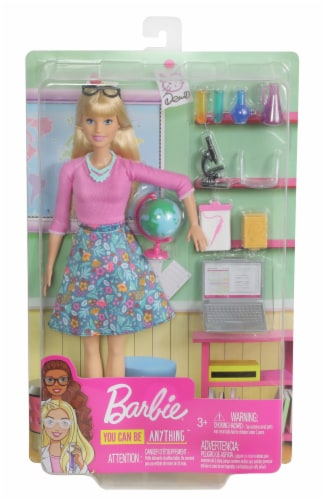 Mattel Barbie® Teacher Doll Playset Perspective: front