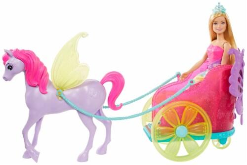 Mattel Barbie® Dreamtopia Princess Pegasus Chariot Perspective: front