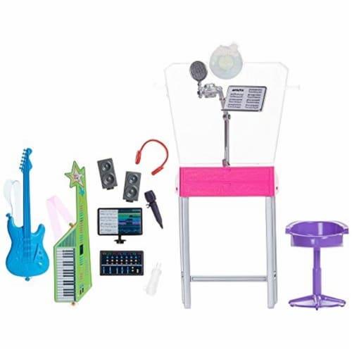 Mattel Barbie® Career Places Musician Recording Studio Playset Perspective: front