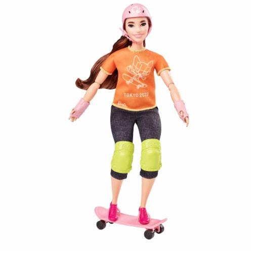 Mattel Barbie® Skateboarder Doll Set Perspective: front