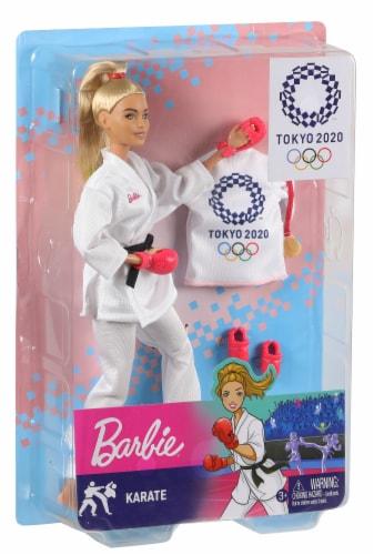 Mattel Barbie® Tokyo 2020 Karate Doll Set Perspective: front