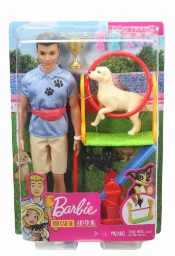 Mattel Barbie Ken Dog Trainer Perspective: front