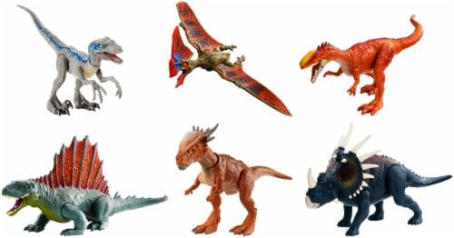 Mattel Jurassic World Savage Strike Dinosaur Figure - Assorted Perspective: front