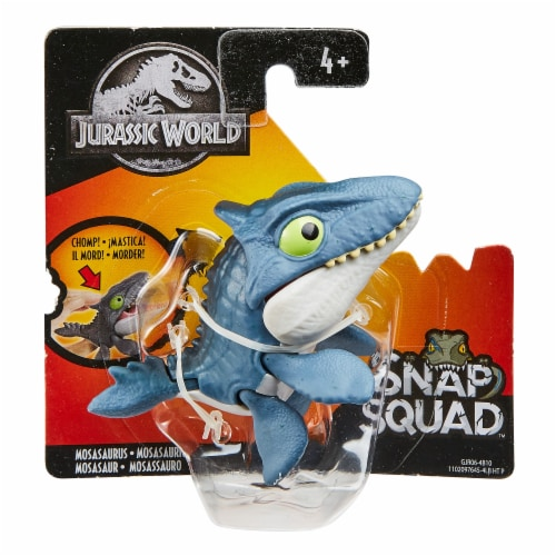 Mattel® Jurassic World Snap Squad Baryonyx DinosaurToy Perspective: front