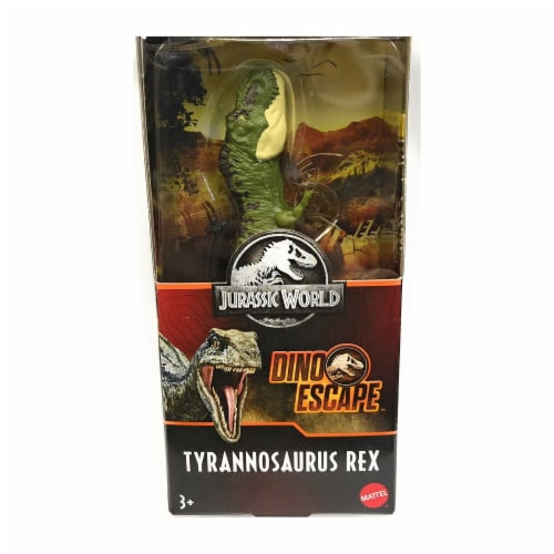 Jurassic World Fallen Kingdom Tyrannosaurus Rex Action Figure - Green Perspective: front