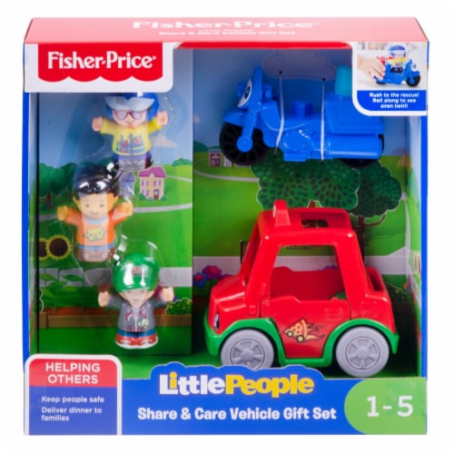 Fisher-Price® Little People Share Care Vehicle Gift Set Perspective: front