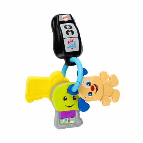 Fisher-Price® Laugh Learn Play Go Keys Perspective: front