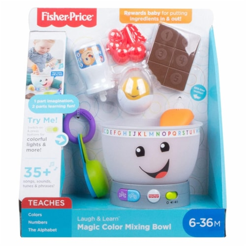 Fisher-Price® Laugh And Learn Magic Color Mixing Bowl Set Perspective: front