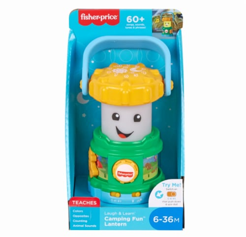 Fisher-Price® Laugh & Learn Camping Lantern Toy Perspective: front