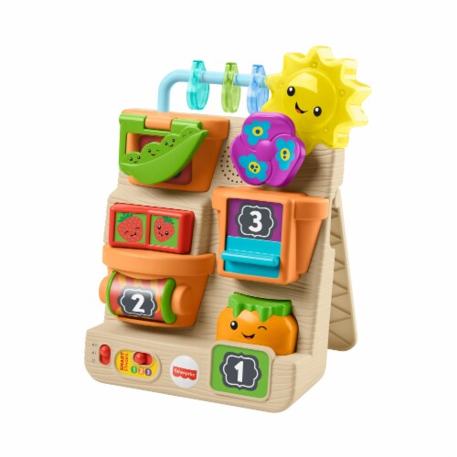 Fisher-Price® Laugh & Learn Peek & Play Garden Perspective: front