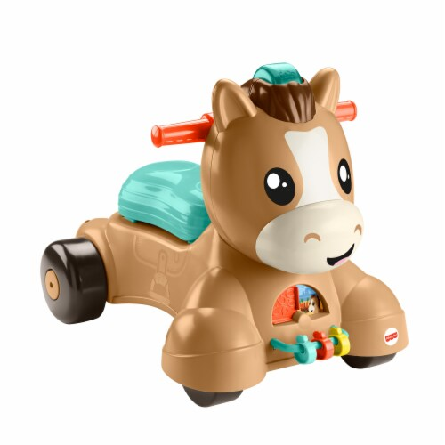 Fisher-Price® Walk Bounce Ride Pony Perspective: front