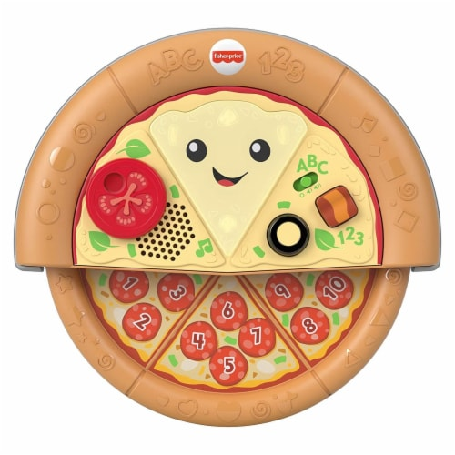 Fisher-Price Laugh & Learn Slice of Learning Pizza Perspective: front