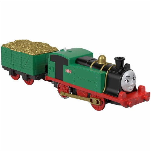 Thomas & Friends Fisher-Price Trackmaster Gina Motorized Toy Train Engine Perspective: front