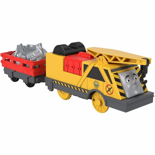 Thomas & Friends Fisher-Price Trackmaster Kevin Motorized Toy Train Engine Perspective: front