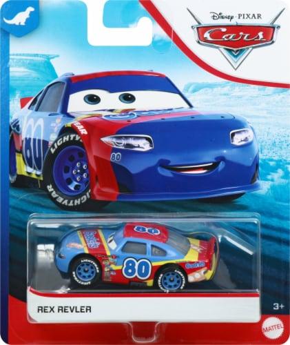 Mattel Cars 3 Rex Revler Car Perspective: front