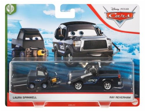 Disney Pixar Cars Laura Spinwell & Ray Reverham Copper Canyon Vehicles Perspective: front