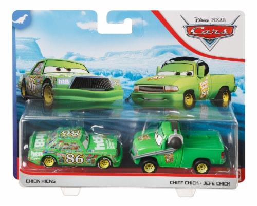 Disney Pixar Cars Chick Hicks Chief DINOCO 400 Vehicles Perspective: front