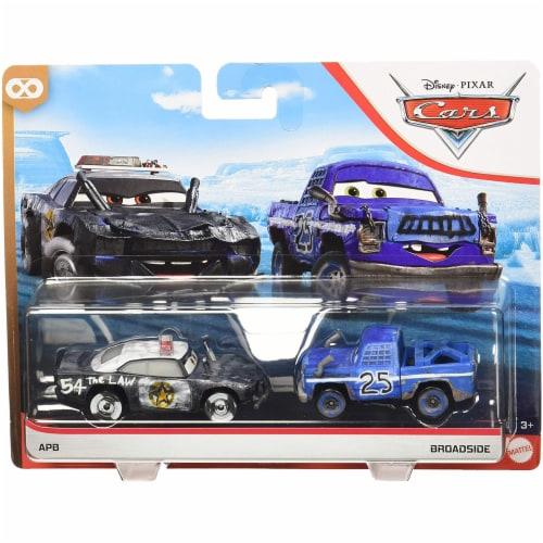 Mattel Disney Pixar Cars APB & Broadside Toy Vehicles Perspective: front