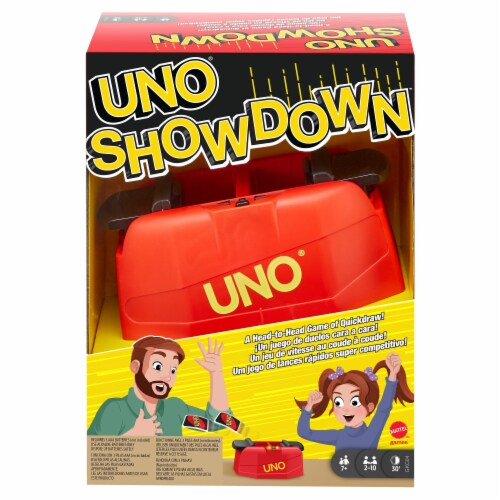 UNO Showdown Card Game Perspective: front