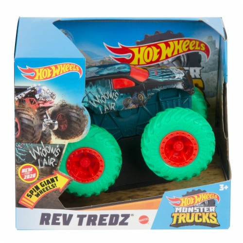 Mattel Hot Wheels® Rev Tredz Widow's Lair Monster Truck Perspective: front