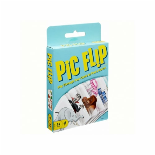 Mattel Pic Flip Card Game Perspective: front