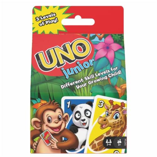 Mattel UNO Junior Card Game Perspective: front