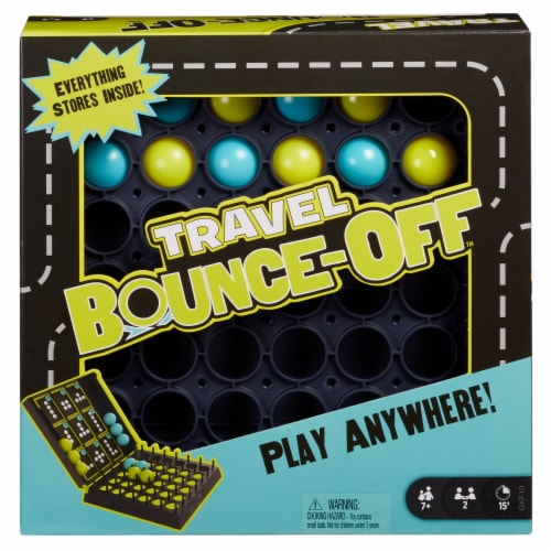 Mattel Travel Bounce-Off Game Perspective: front