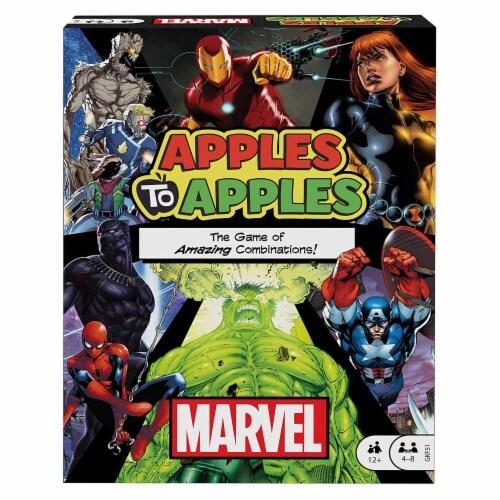 Mattel MTTGKF51 Apples to Apples - Marvel Board Game Perspective: front
