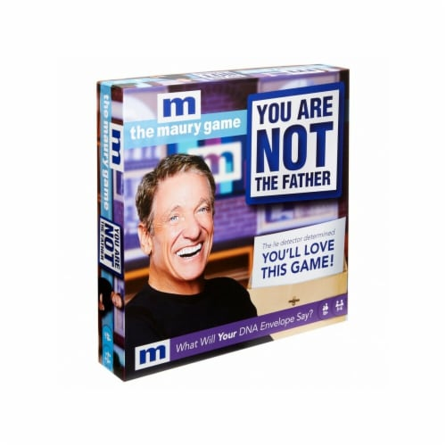 Mattel MTTGKF55 The Maury Show-You are Not the Father Board Game Perspective: front