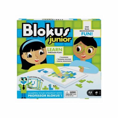 Mattel MTTGKF59 Blokus Jr Board Game Perspective: front