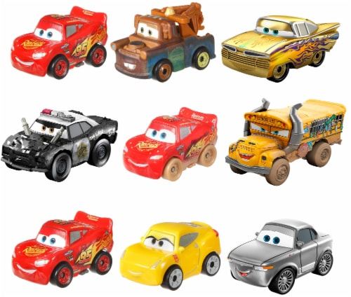 Mattel Disney Cars Mini Racers - Assorted Perspective: front
