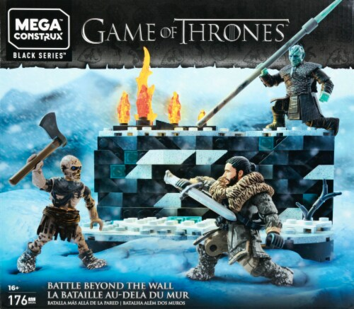 Mega Construx™ Game of Thrones White Walker Battle Set Perspective: front
