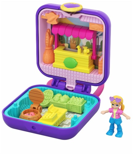Mattel Polly Pocket Market Tiny Compact Figure Perspective: front