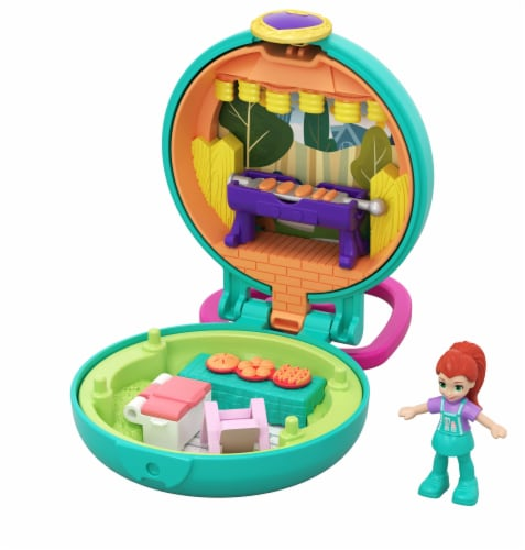 Mattel Polly Pocket Tiny Compact Figure Perspective: front