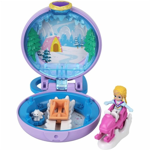 Mattel Polly Pocket Tiny Compact Playset - Assorted Perspective: front