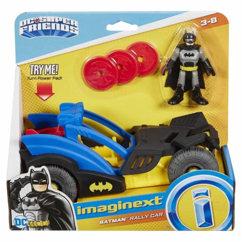 Fisher-Price® Imaginext DC Super Friends Batman Rally Car Perspective: front