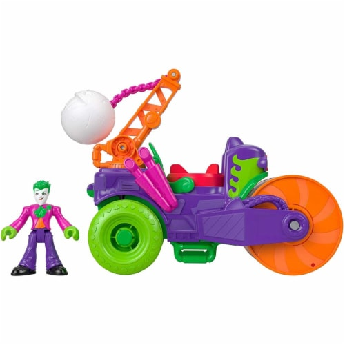 Fisher-Price® Imaginext DC Super Friends The Joker Steamroller Vehicle Perspective: front