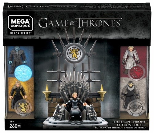 Mega Construx™ Game of Thrones The Iron Throne Set Perspective: front