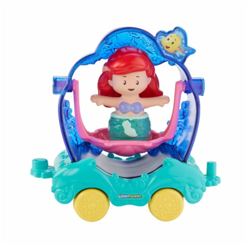 Fisher-Price® Little People Disney Princess Parade Ariel & Flounder Float Perspective: front