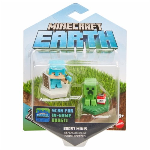Mattel Minecraft Earth Mini Figures - Assorted Perspective: front